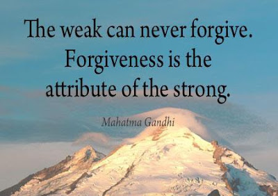 Image result for forgive is the attribute of the strong