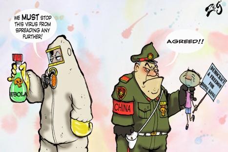 """Résultat de recherche d'images pour """"cartoon on  China's totalitarianism"""""""