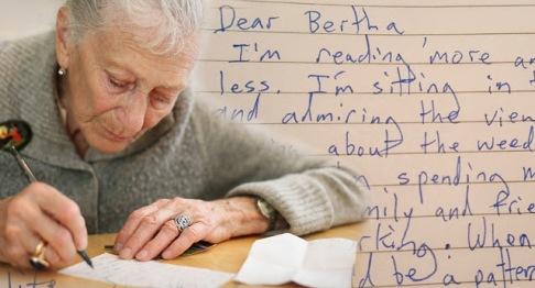 Lá thư của một người phụ nữ dạy chúng ta bài học về ý nghĩa cuộc sống