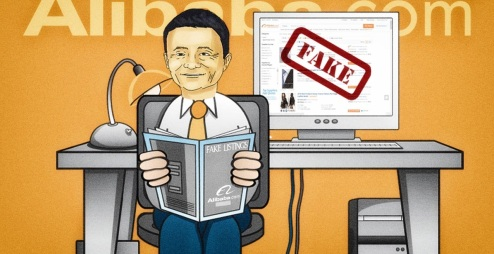 Image result for cartoon about fake goods by china
