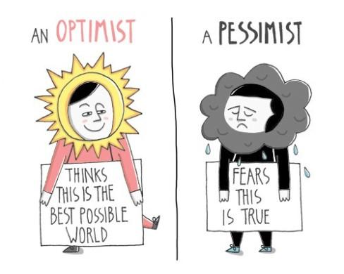 Optimistic, Pessimistic, or Realistic | by Shendo Maccow | Medium